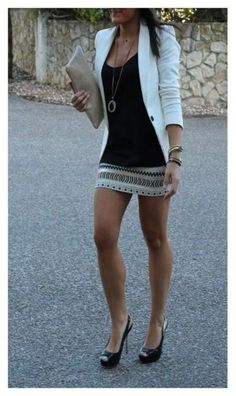 Night out with .....<3 - Skirt. | on Fashionfreax you can discover new designers, brands & trends. Love this look!