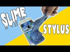 DIY | Slime Stylus - HOW TO MAKE SLIME INTO A STYLUS!!! - EASY DIY!