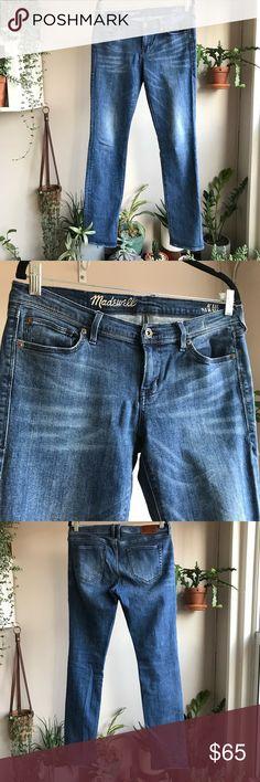 5aaae70dae18 Madewell - Rail Straight Jeans Straight leg denim in deep indigo. Some  stretch. Materials