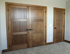 Looking for some visual inspiration for all of your projects? Interior Door Styles, Interior Doors, Lake House Plans, White Doors, Pocket Doors, Closet Doors, Panel Doors, French Doors, Natural Wood