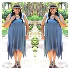 We love seeing blogger Curves and Chaos rocking #RachelPally on her #SantaBarbara vacation!