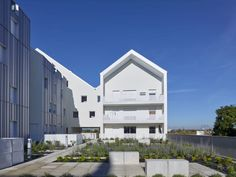 Bohuon Bertic architectes · Social housing, Fulton, Angers