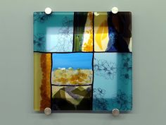 R.A. Morey Kiln Formed Glass Fused Glass - commissioned work