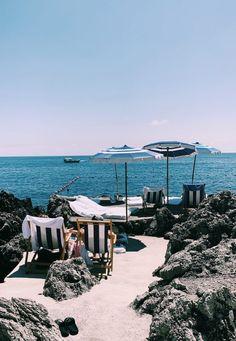 Dream Vacations, Vacation Spots, Best Coffee Shop, Coffee Shops, Capri Island, Hiking Spots, Hotel Pool, On Repeat, Beach Club