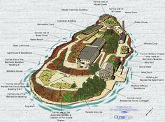 Alcatraz Island Diagram