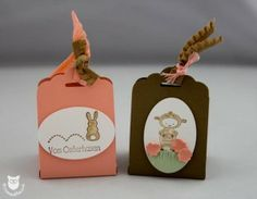 Stampin' Up! Tag Topper Punch Easter