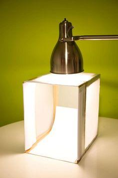Como hacer una caja de luz , para tomar buenas fotos. DIY