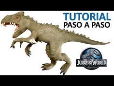 Jurassic World Cake, Dino Cake, Indominus Rex, How To Make Clay, Plasticine, Falling Kingdoms, Fondant Tutorial, Clay Animals, Polymer Clay Projects