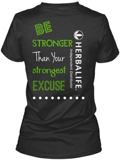 Herbalife Tee! Made my first campaign! Woop All profits go towards the Herbalife Family Foundation