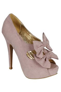 There aren't enough blush coloured shoes in the world.