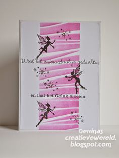 Gerrina's Creatieve Wereld: Fantasie met een sprankeltje / Fantasy with a little spark Christmas Fairy, Christmas Cards, Xmas, Card Tags, I Card, Rubber Stamp Company, Lavinia Stamps Cards, Marianne Design, Cool Cards