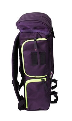 Structured Plum Purple Backpack