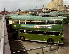 Atlantean Buses at Liverpool's Pier Head