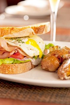 9 Tasty Brunch Sandwiches — Eat Up!    #refinery29  http://www.refinery29.com/breakfast-sandwich#slide-3  MLT Sandwich at The Florentine  Before you say there's no substitute for bacon, give The Florentine's riff on a BLT a try. The M stands for mortadella, which is griddled between two thick slices of country bread, with fried egg and provolone, to boot. You lose the crunch of crisped-up bacon, but you gain the bold flavor of the mortadella, an Italian sausage flecked with fat from the neck…