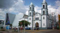 Catedral de San José, en Coatzacoalcos, Veracruz, México.