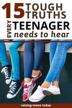 15 Tough Truths Every Teenager Needs to Hear - Sometimes, we just need to cut it to our teenagers straight. No sugar-coating or softening around t - Every Teenagers, Raising Teenagers, Parenting Teenagers, Parenting Hacks, Parenting Quotes, Bad Parenting, Natural Parenting, Teenage Daughters, Adolescents
