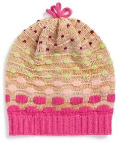 Missoni Knit Wool Beanie