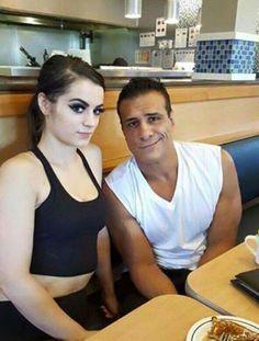 Paige & Alberto Del Rio