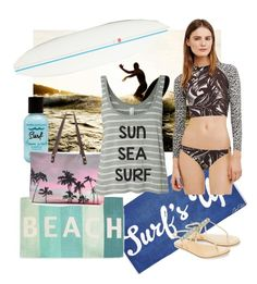 """Surf"" by clariworld ❤ liked on Polyvore featuring Mr Perswall, Bumble and bumble, Tory Burch, Thro, Samudra, Monsoon and Quiksilver"