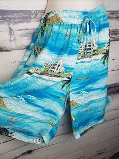 e5b35bd6 Selling On Instagram, Instagram Shop, Baggy Shorts, Blue Hawaiian, Unique  Vintage, Vintage Items, Vintage Clothing, Vintage Outfits, Novelty Print