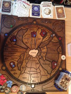 I've never had the chance to play Dune and this custom board really makes me want to.