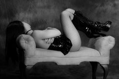 Sae B&W Covering Up