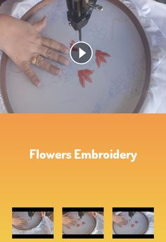Flowers embroidery