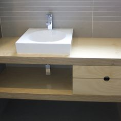 Plywood vanity vanity units the floor and furniture for Furniture quality plywood