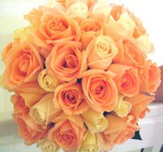 Google Image Result for https://citrinedesigns.com/Peach%2520and%2520Ivory%2520Rose%2520Bridal%2520Bouquet.jpg