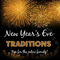 Here are some great ideas for celebrating New Year's as a family. Includes creating a vision board, doing a balloon countdown, the annual interview, traditional foods, games, a scavenger hunt, and more! Sure to give a fun and memorable start to the New Year.