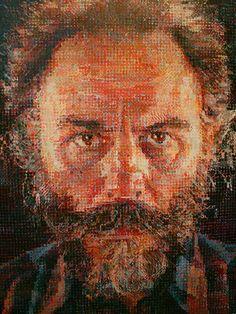 Chuck Close - pointillism