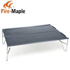 Fire Maple Outdoor Camping Table Ultralight Hiking Folding Desk Aluminum 398g #FireMaple