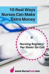 Nursing Registry/Per Diem/On Call - 10 Real Ways Nurses Can Make Extra Money - Nursing Schools In Nyc, Nursing Jobs, Importance Of Time Management, Time Management Skills, Per Diem Nursing, Online Certificate Programs, Online College Degrees, Nursing Programs, Getting Things Done