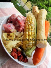 Annielicious Food: Fresh Huai Shan with Spare Ribs Soup (鲜淮山排骨汤)