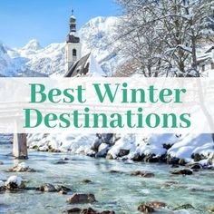 """Universal Jetsetters - """"Not all those who wander are lost. Christmas Travel, Holiday Travel, Best Winter Destinations, Winter Travel, Where To Go, Wander, Skiing, Travel Tips, Europe"""