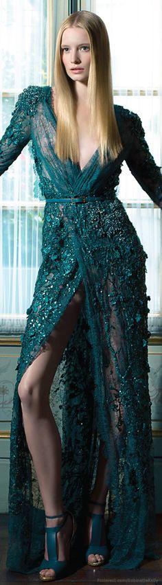 Elie Saab Haute Couture | F/W 2012 © Benjamin Kanarek