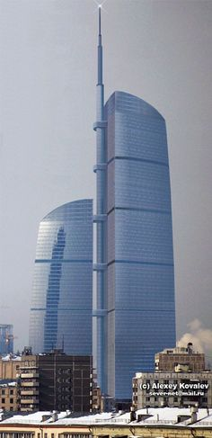 Federation Tower - Moscow