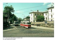 "Intersectie Strada ""Banu"" cu Strada ""Arcu"", 1973, Iasi, Romania by masina2009, via Flickr Survival, Castle, Street View, Study, History, Building, Pictures, Photos, Studio"