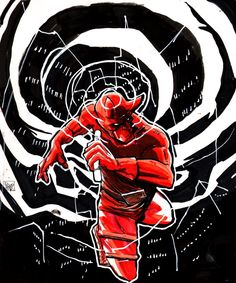 Daredevil by Robbi Rodriguez via DeviantArt