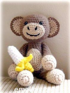 Amigurumi Maymun Mono Yapılışı