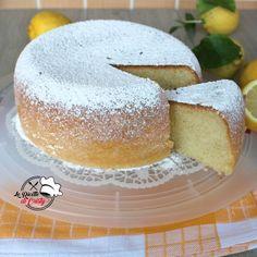 TORTA AL LIMONE SOFFICE E ALTA Flan, Yogurt, Lime Cake, Chiffon Cake, E Design, Cooking Time, Biscotti, Vanilla Cake, Cake Recipes