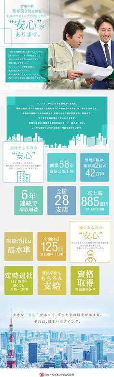日本ハウズイング株式会社 【東証二部上場】/マンションの資産価値を高める営繕技術(施工管理)の求人PR - 転職ならDODA(デューダ)