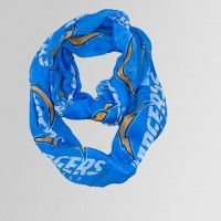 Sheer Infinity Scarf / San Diego Chargers