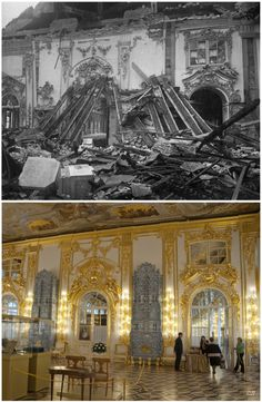 Sergey Larenkov: then and now Romanov Palace, Russian Architecture, Tsar Nicholas Ii, Imperial Russia, The Past, Louvre, Royals, City, Victorian