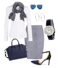 """""""Look Work chick #f"""" by ccarmemlucia on Polyvore featuring moda, Jitrois, Dorothy Perkins, Michael Kors, Givenchy, Steve Madden, Victoria Beckham e Cartier"""
