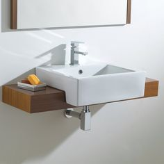Products at QS stand for a high level of quality. Phoenix Semi Recessed Wash Basin is manufactured with the best materials. Wood Sink, Bathroom Furniture, Trendy Bathroom, Bathroom Basin, Bathroom, Bathroom Design, Bathroom Decor, Sink, Wood Bathroom