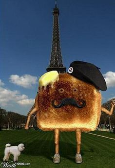 #CheatOnGreek and #Contest <3  TRULY French Toast ;)  Ha-ha-hah!!!!  In France with a French poodle nonetheless!!!!  LOL <3