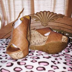 Sanliki shoes size 8 but fit like size 7 Taupe they are cute size 8 but fit  like a 7 DbDk Fashion Shoes