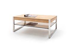 Adelia Coffee Table Rectangular In Solid Oak With Metal Legs, High-quality table adds classic touch to your living room. The table top is made of robust oak solid wood combined with sturdy frame in. Coffee Table 2019, Narrow Coffee Table, Mirrored Coffee Tables, Coffee Tables For Sale, Oval Coffee Tables, Coffee Table Rectangle, Brass Coffee Table, Coffee Table With Storage, Industrial Style Coffee Table