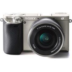 Sony Black Digital Camera with 16 - Lens Camera Apps, Sony Camera, Dslr Or Mirrorless, Sony Digital Camera, Best Sims, Full Frame Camera, Hybrid Design, Sony A6000, Best Mobile Phone